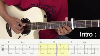 Menunggu Kamu - Anji - Fingerstyle Guitar Tutorial. MP3