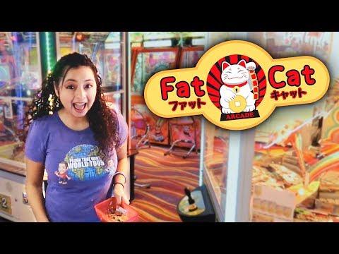 Exploring Fat Cat Arcade in Singapore!!!