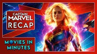 CAPTAIN MARVEL in 3 minutes (Movie Recap)
