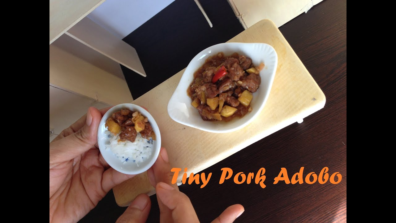 Miniature cooking ep 11 tiny pork adobo adobong baboy mini food miniature cooking ep 11 tiny pork adobo adobong baboy mini food kids toys channel youtube forumfinder Image collections