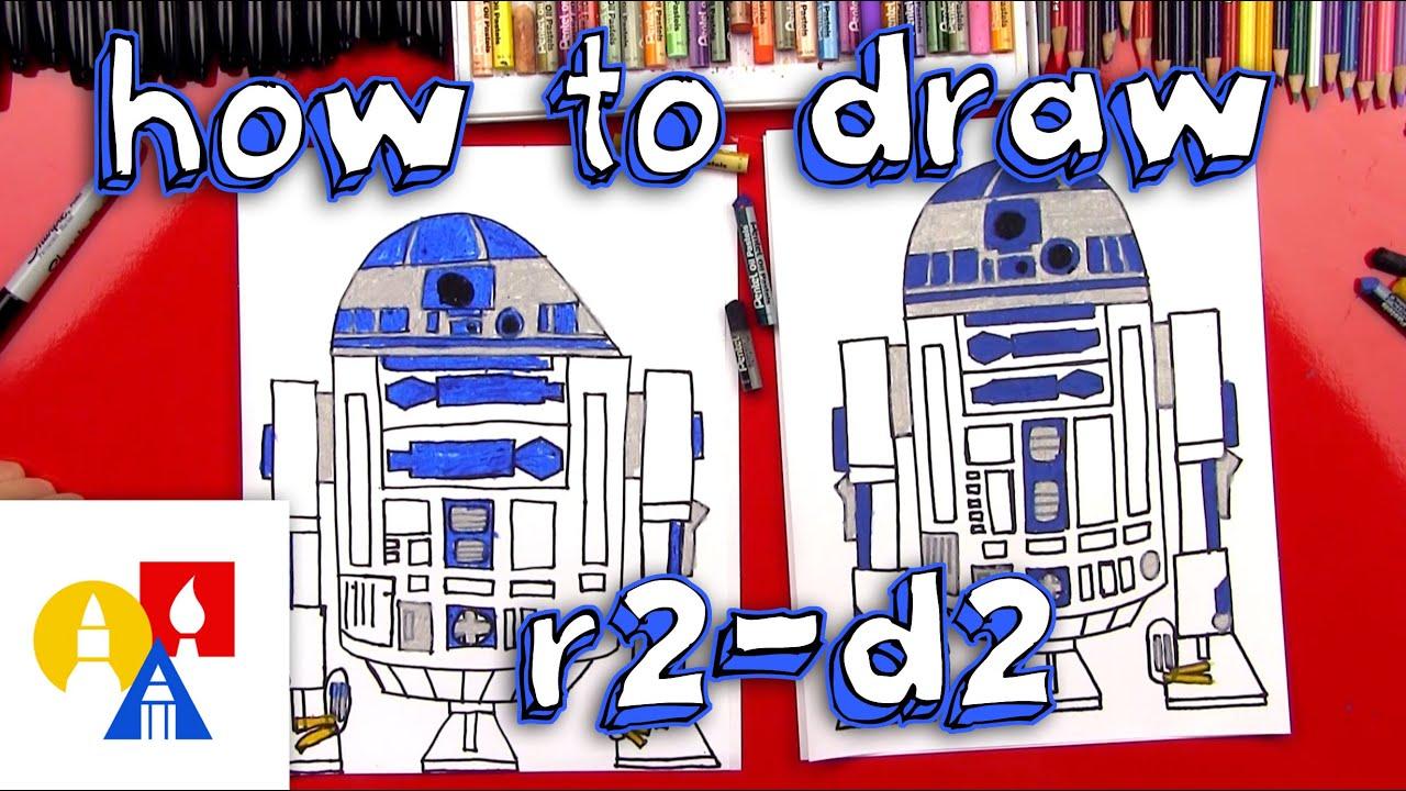 79efcadd4669c How To Draw R2-D2 - YouTube
