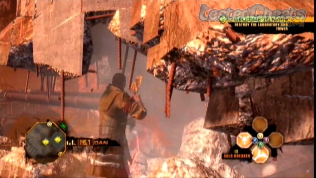Red Faction Guerrilla Cheat Code Gold Breaker Hammer PC Xbox 360 PS3 YouTube