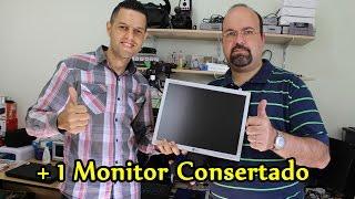 Conserto Monitor Flatron L1550S Professor Daniel