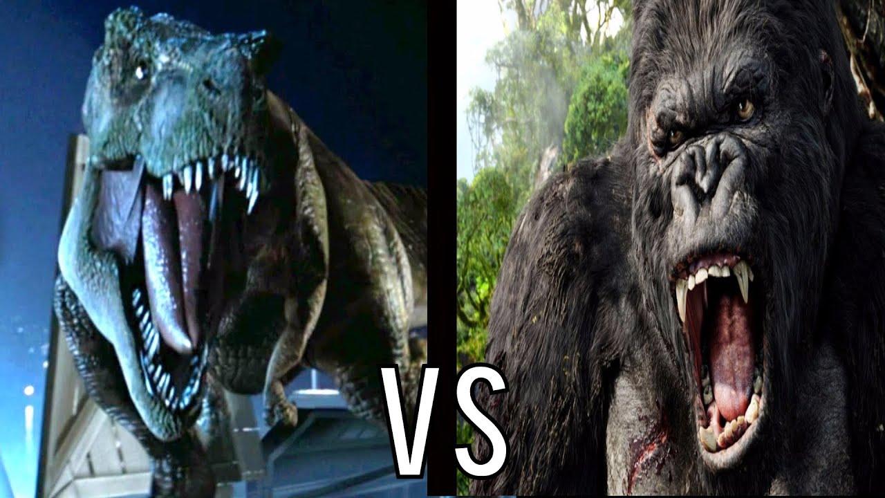 Bull T Rex Vs King Kong Hd Youtube