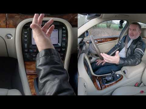 how-to-set-the-sat-nav-and-pair-a-mobile-in-a-2005-jaguar-xj6
