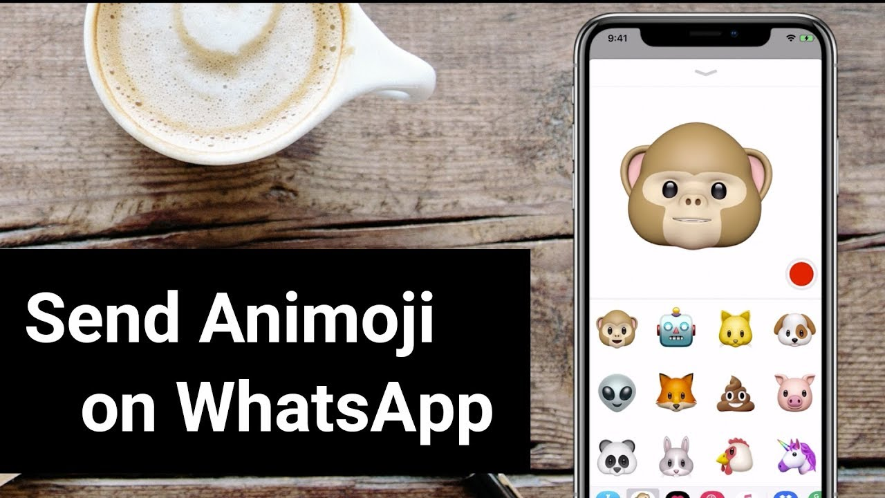 How To Send Animoji in WhatsApp on iPhone X?
