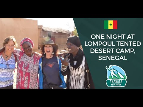 One Night At Lompoul Tented Desert Camp, Senegal