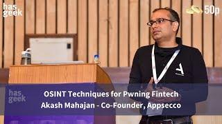 OSINT Techniques for Pwning Fintech