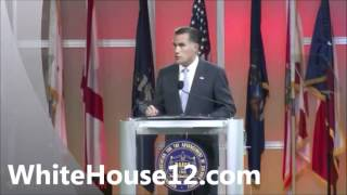 White House 2012: Romney Addresses the NAACP