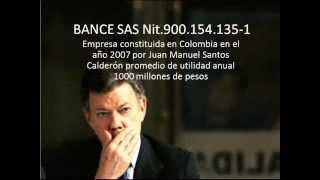 Enriquecimiento ilicito de Juan Manuel Santos PARTE 2