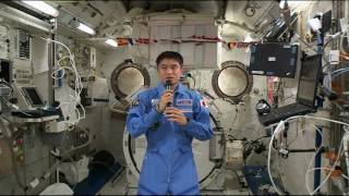 Space Station Astronaut Shares Thoughts on Life in Orbit with Japanese Media