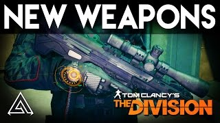 The Division New Weapons in 1.3 Underground DLC