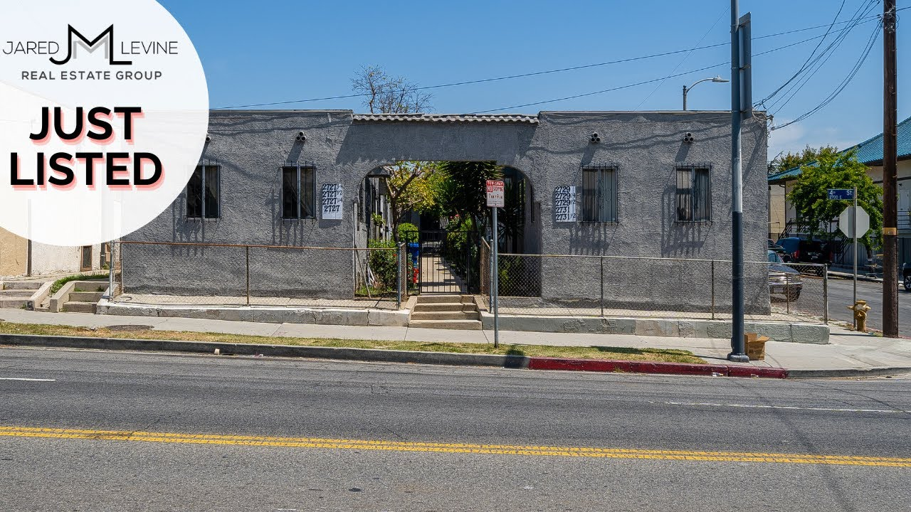 9 Unit Multifamily Building For Sale In Boyle Heights by Jared Levine of JML Real Estate Group