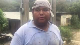 Entrevista sobre desastre en Chicahuaxtla por Earl (2)