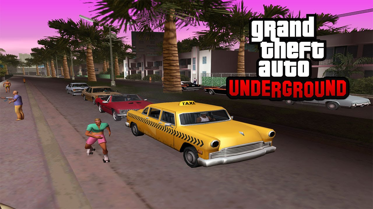GTA: Underground combines San Andreas, Liberty City, Vice City