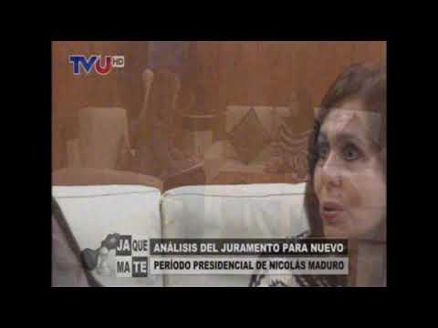 Internacionalista Karen Longaric sobre el peligro de apoyar a Nicolas Maduro!!!