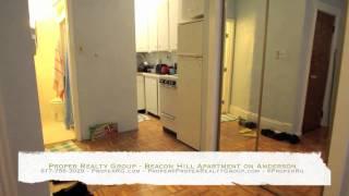 Boston Apartments Beacon Hill Apartment On Anderson