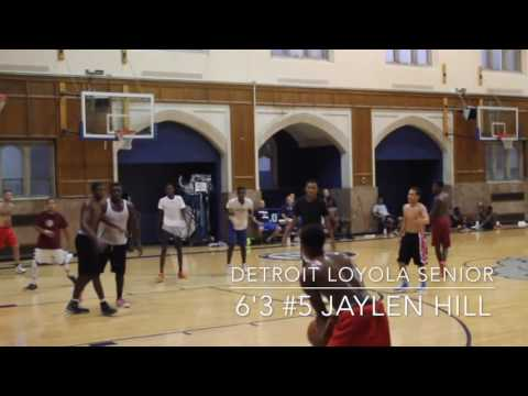 6'3 Jaylen Hill Highlight Tape (Detroit Loyola High School) 9/15/16!