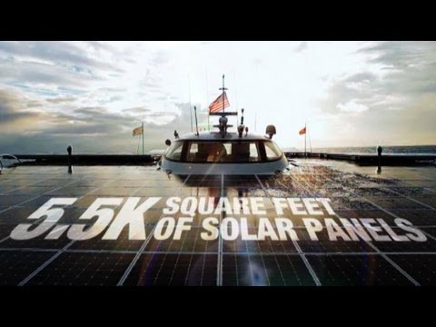 World's Largest Solar Boat: $19M With Endless Range