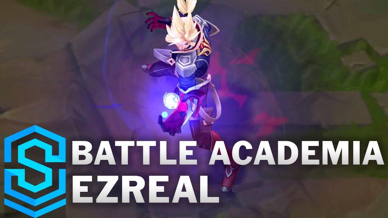 Battle Academia Ezreal Skin Spotlight – League of Legends