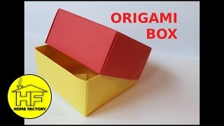 ORIGAMI BOX - EASY HOMEMADE GIFT BOX