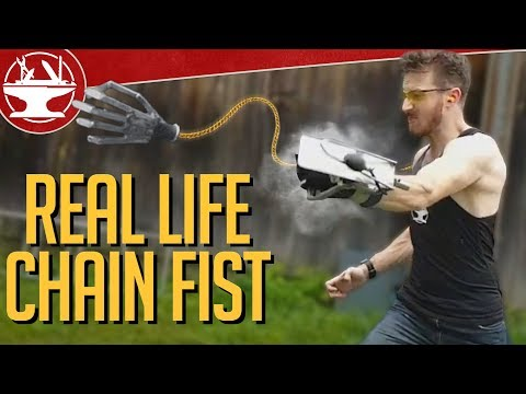 Thumbnail: Make it Real: Chain Fist from Kingsman 2!