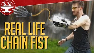 make it real chain fist from kingsman 2