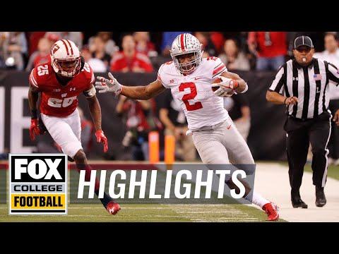 Ohio State vs Wisconsin | Highlights | FOX COLLEGE FOOTBALL
