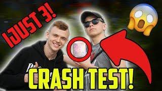 IJUST 3 CRASH TEST!😱 *woooow*