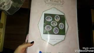 Обзор набора Амишоп, ёлочные игрушки Котята.
