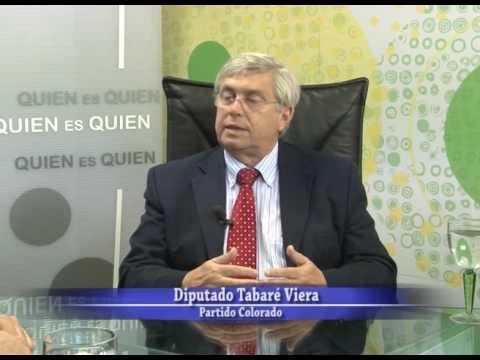 Quien es Quien - Tabaré Viera - Diputado - Partido Colorado - PARTE 2 - 02 03 2017