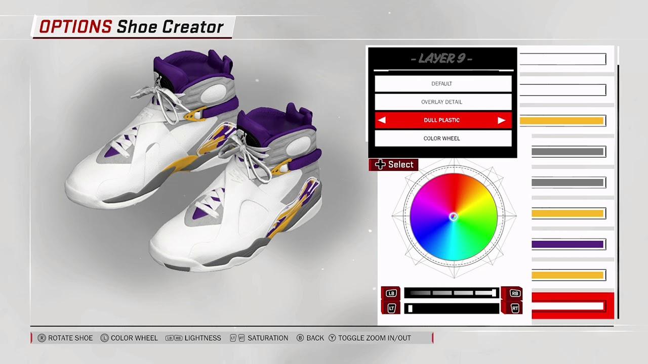 aea7e546dc7 NBA 2K18 Shoe Creator - Air Jordan 8