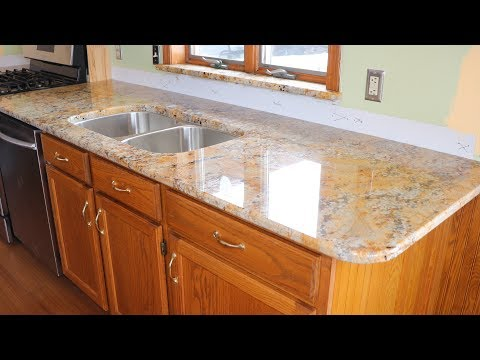 Kitchen Update Part 9 Installing The Granite Countertops