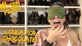 SERÁ QUE CONHEÇO MEU CHOCOLATE PREFERIDO SÓ PELO CHEIRO? | Adriane Galisteu