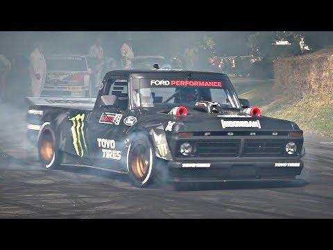 2019 Goodwood Festival Of Speed BEST Of Day 2 - Crashes, Ken Block Hoonitruck, F1s & More!