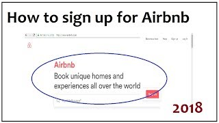 Gambar cover How to sign up for Airbnb 2018