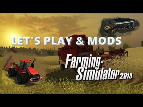 Farming Simulator 2013 Mods Review #6 - Baling Technologys and Tractors