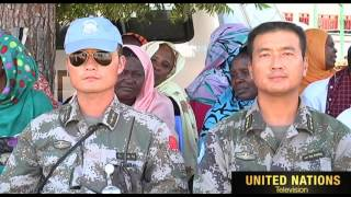 UNAMID East Darfur  Abukarinka locality Commemorates UN Intern…
