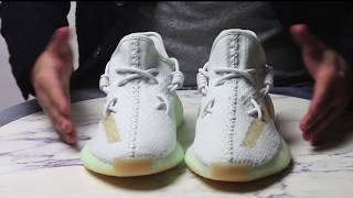 Adidas Yeezy Boost 350 V2 Hyperspace Review + How to KAWS Style Yeezy Lace  مراجعة سنيكرزشيخ