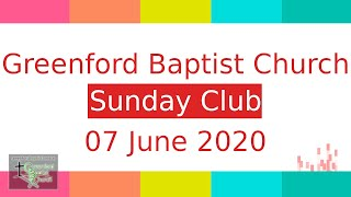 Sunday Club - 7 June 2020