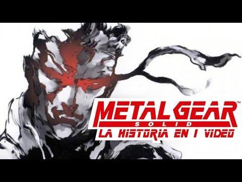 Metal Gear Solid I La Historia En 1 Video