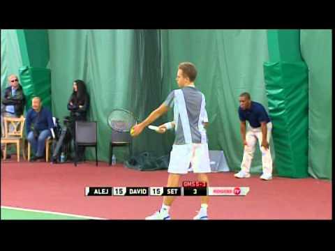 2014 U18 Indoor Rogers Junior National Singles Championship pt. 2