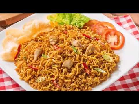 Delicious Indonesian fried Noodles, MIE GORENG