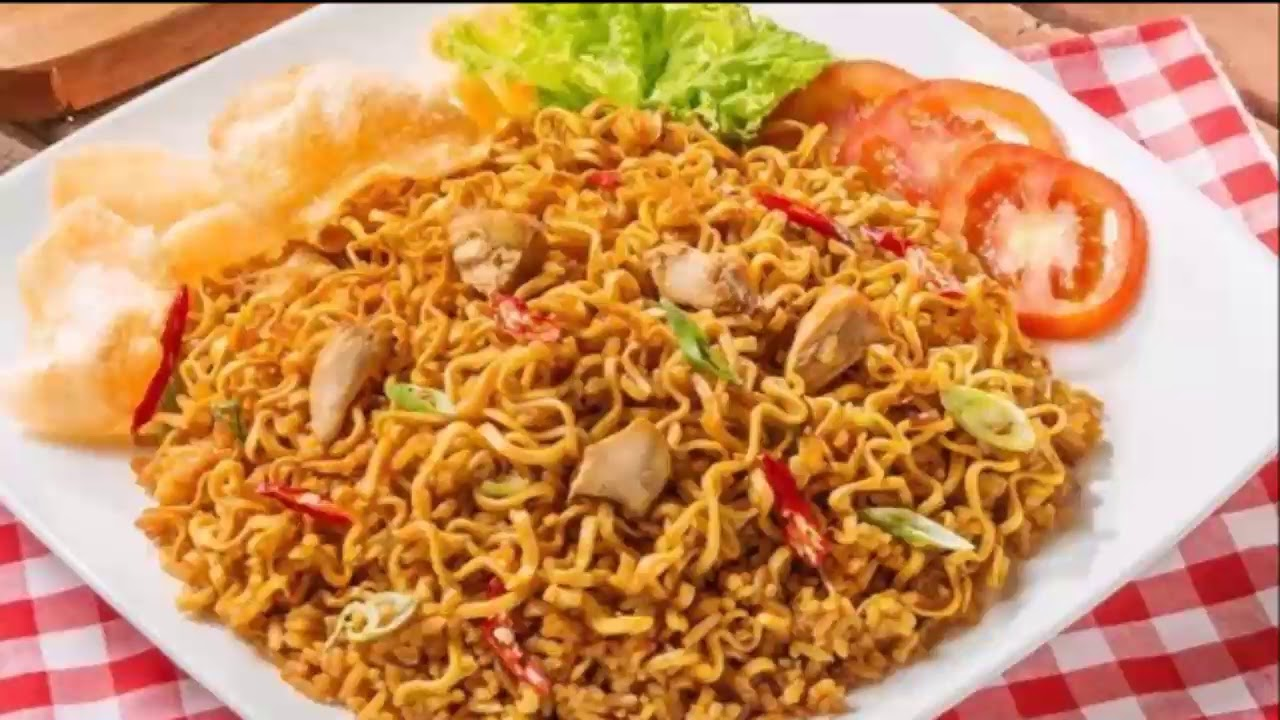nudels mie  Delicious Indonesian fried Noodles, MIE GORENG - YouTube