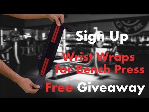 Wrist wraps for bench press Giveaway! WinWristWraps.info