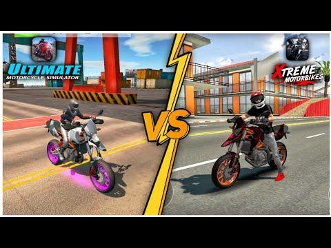 Ultimate Motorcycle Simulator Vs Xtreme Motorbikes Best Bike Games Comparison