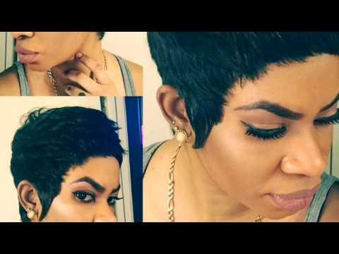 Short Razor Cut Wigs