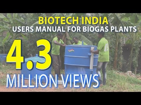 Users manual for Installation of BIOTECH BIOGAS PLANT www.biotech-india.org
