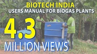 Users manual for Installation of BIOTECH BIOGAS PLANT www.biotech-india.org thumbnail
