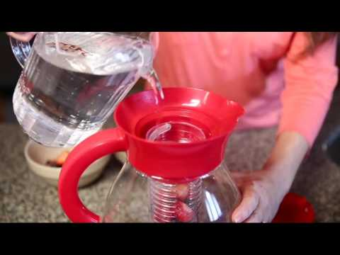 Primula XL Fruit Infusion Pitcher on QVC